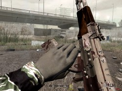 Download AK47 weapon skin for game Call of Duty 4 - Call of Duty 4