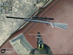 Download Remington 700 sniper weapon skin for game Call of