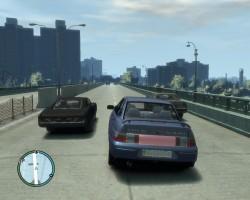 Download VAZ 2110 Lada russian car for game GTA IV - GTA 4 - Game